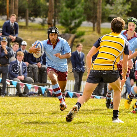 Chev U15 v Oxley May 19 - Round 3 of the 2018 ISA Div II Rugby competition