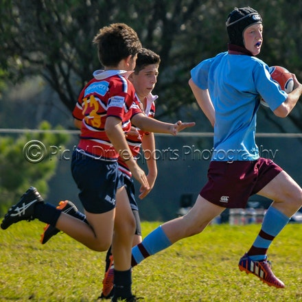 Chev U13 v Redfield May 26 - Round 4 of the 2018 ISA Div II Rugby competition.
