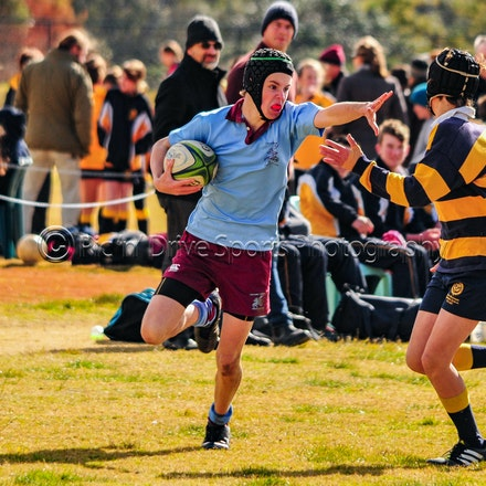 Chev U14 v Blue Mts Grammar June 2 - Round 5 of the 2018 ISA Div II Rugby competition