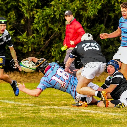 Chev First XV v Blue Mts Grammar June 2 - Round 5 of the 2018 ISA Div II rugby competition.