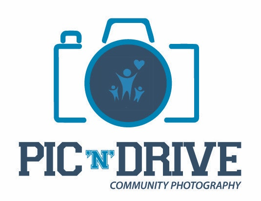 Pic 'n' Drive Community logo (Blue)