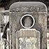 Pump of the past - Discarded petrol pump, Queenstown, Tasmania.