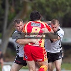 Asquith Magpies v Belrose 010412 - First game of 2012 season, away to te Eagles. AR won 34-0. A1 won 20-10.