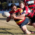 Hornsby Lions v Macquarie Uni 280712 - Huge win for the Lions against an undermanned Uni side.