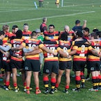Hornsby Lions v Blue Mountains 310813 - Major semi-final of the Clarke Cup at Macquarie Uni Sports Field. The staunch Lions prevailed 13-8 in a true battle...