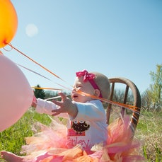 Tenley's First Birthday Party - Can you say cute??? Love this little girl!