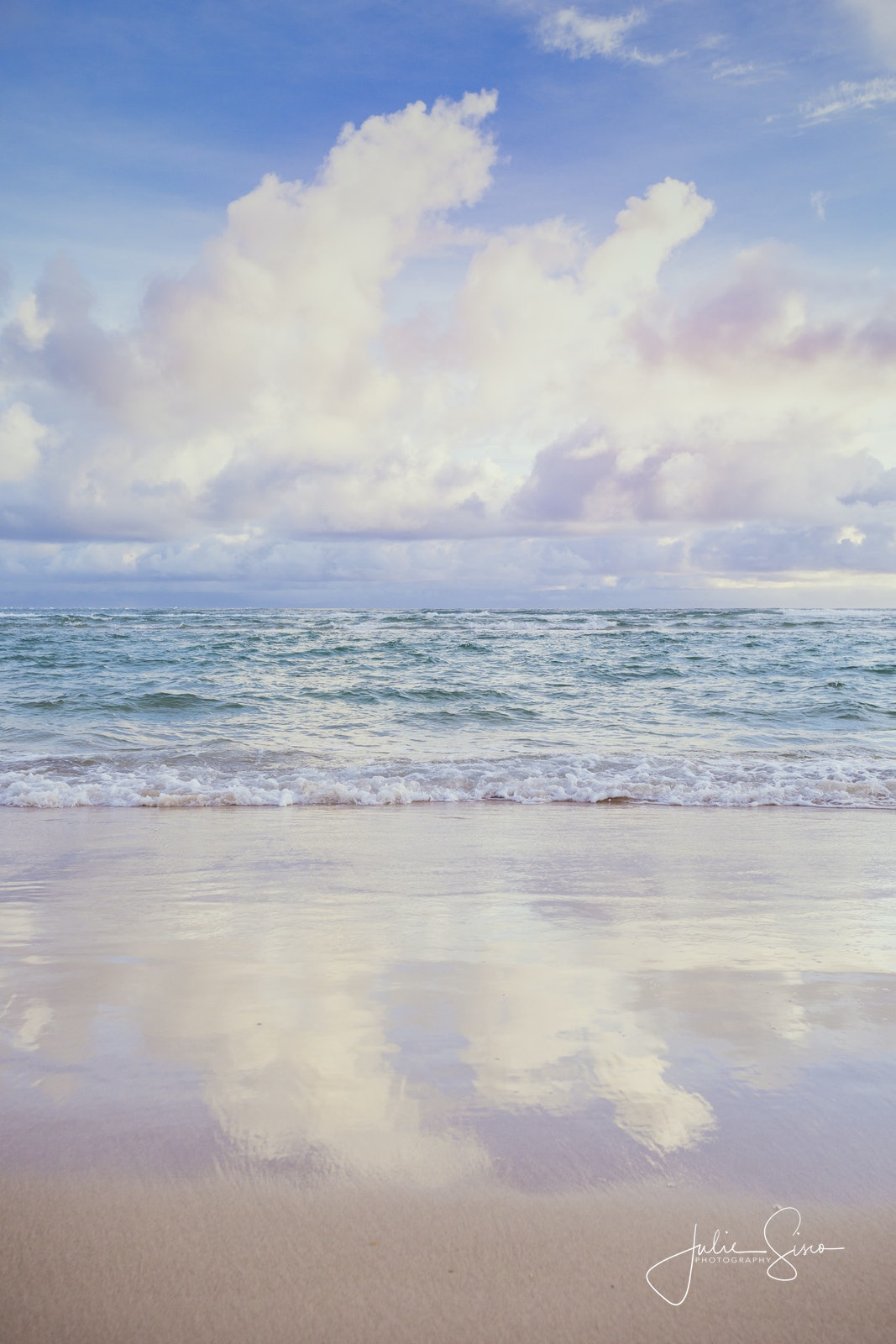 Sky Ocean Sand Flinders entrance sunrise - Snapshots of Straddie. Wall Art Landscape and Seascape Photography by Julie Sisco. Photos from North Stradbroke...