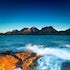 The Hazards - Coles Bay. - Overlooking Coles Bay sits the peaks of The Hazards - mountain peaks that rest quietly and often glow orange and red during...