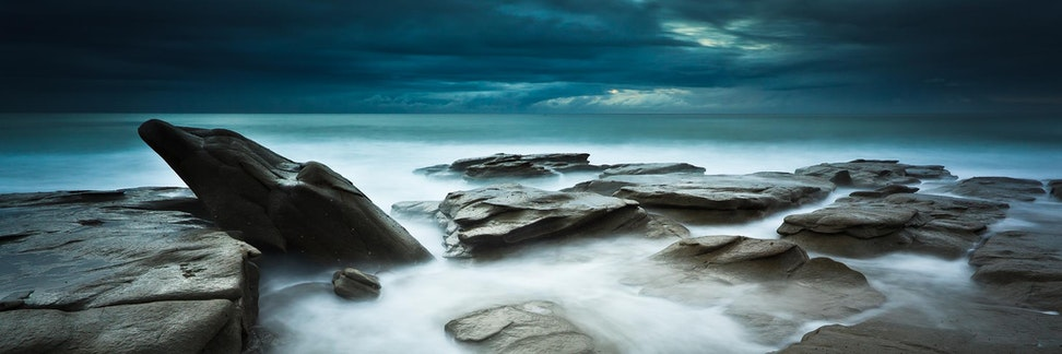 Whale Rock - Sunshine Coast - Point Cartwright has some stunning rock formations and 'Whale Rock' is one such amazing formation. Here the water cascades...