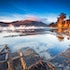 Tessellated Reflection - Eaglehawk Neck - A short walk from the carpark and you're standing on the Tessellated Pavement. I looked behind to see what the...