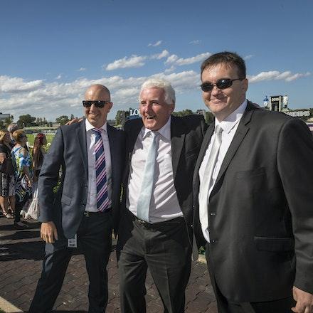 Tarzino-Connections-20160319-4841 - SYDNEY, AUSTRALIA. 19 March 2016.  Tarzino {Tavistock-Zarzino} ridden by Craig Newittwins the Sky Racing Rosehill Guineas...