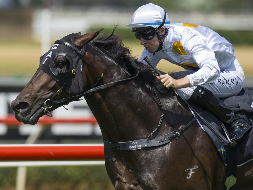 Vancouver-BerryTommy-03072015-5058 - Vancouver (Medaglia d'Oro - Skates) wins the G2 Todman Stakes at Royal Randwick on 7 March 2015.  He was ridden by...