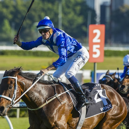 Winx-McDonaldJames-10032015-5376 - SYDNEY, AUSTRALIA. Winx (Street Cry - Vegas Showgirl) wins the G1 Epsom Handicap at Royal Randwick on 3 October 2015....
