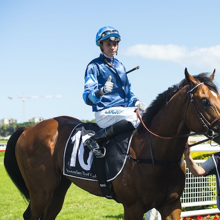 Aylmerton-AdkinsAdam-03102018-3536 - AYLMERTON (Siyouni - Aloona) wins the G2 Todman Stakes.  Ridden by Adam Adkins.  Photo by Bronwen Healy - The Image...