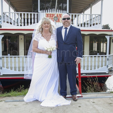 Lorraine and Peter - Lorraine and Peter's fantastic wedding on the Nepean Belle
