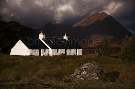 Scotland_7910 - Black Rock Cottage, Glen Coe, Scotland.
