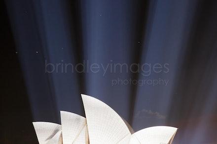Sydney Opera House #6800 - Sydney Opera House lit during Vivid Festival