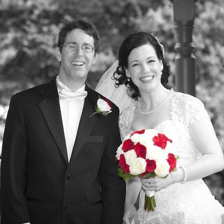 Ros and Ian Wedding
