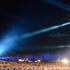 Main arena laser show