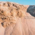 Sand layered erosion