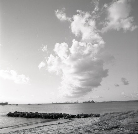 Kurnell Beach and Rocks - Each archival photograph is stamped and signed by Robert and a brief description of how it was taken. The options are as follows: -...
