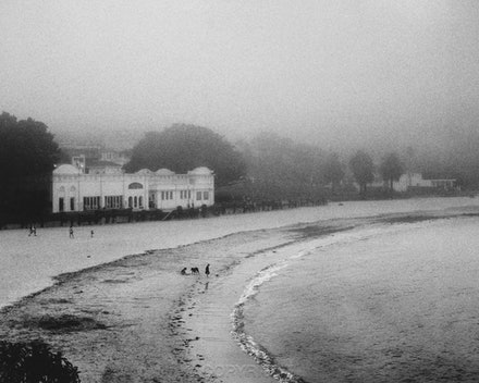 Bathers Pavilion in the Mist - Balmoral - Each archival photograph is stamped and signed by Robert and a brief description of how it was taken. The options...