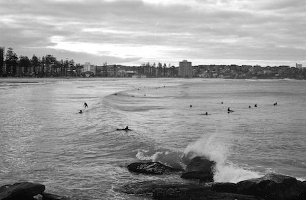 Manly Beach & Surfers - Each archival photograph is stamped and signed by Robert and a brief description of how it was taken. The options are as follows: -...