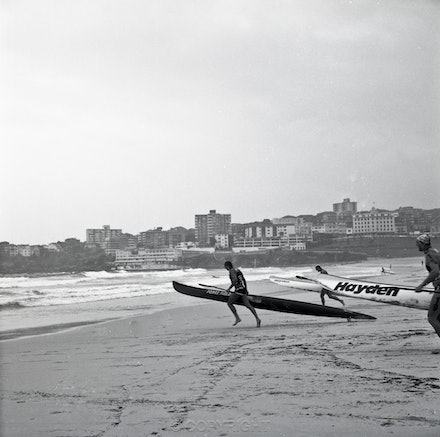 Bondi Lifesaver and Kayak 2 - Each archival photograph is stamped and signed by Robert and a brief description of how it was taken. The options are as...