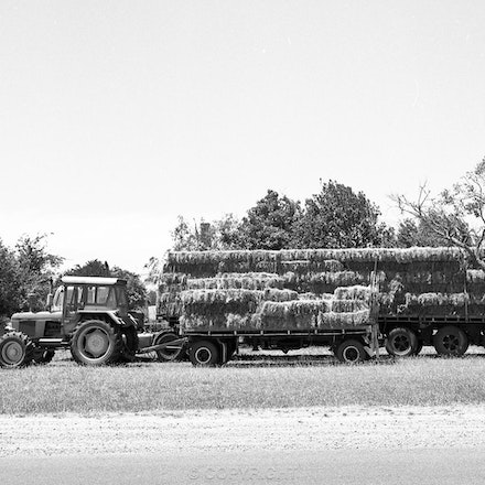 Ballarat Bales - Each archival photograph is stamped and signed by Robert and a brief description of how it was taken.