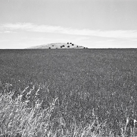 Ballarat Bald Hill - Each archival photograph is stamped and signed by Robert and a brief description of how it was taken.