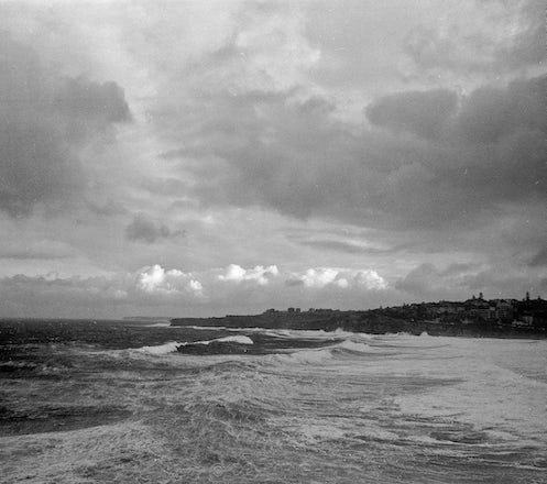 Bondi to Coogee Walk - Each archival photograph is stamped and signed by Robert and a brief description of how it was taken.