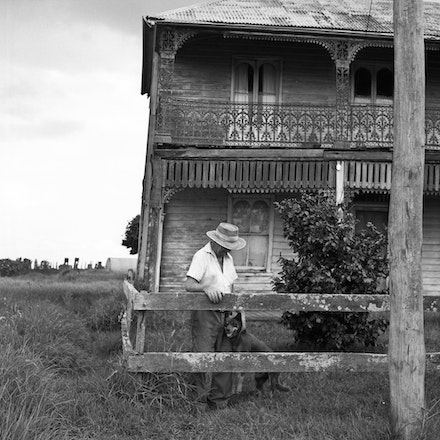 Windsor Farmer 1 - Each archival photograph is stamped and signed by Robert and a brief description of how it was taken.