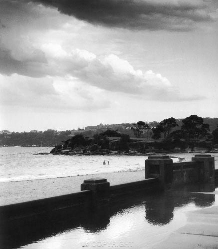 After the Storm ,looking towards The Island Balmoral - Each archival photograph is stamped and signed by Robert and a brief description of how it was taken. The...