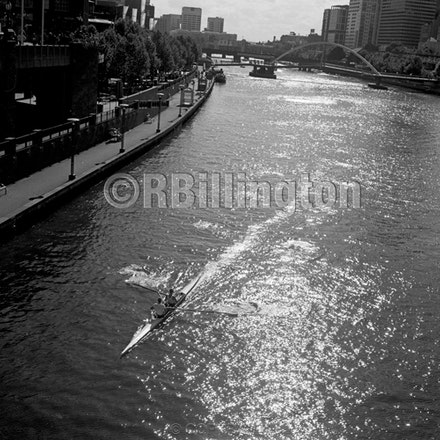 melbourne009 - Each archival photograph is stamped and signed by Robert and a brief description of how it was taken.