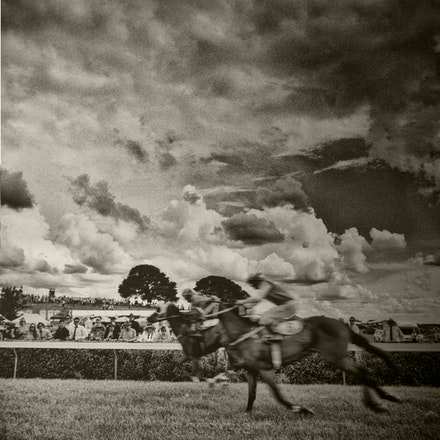 Bong Bong Races, Bowral - Each archival photograph is stamped and signed by Robert and a brief description of how it was taken. The options are as follows: -...