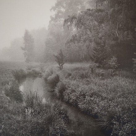 Bowral River in the Mist - Each archival photograph is stamped and signed by Robert and a brief description of how it was taken. The options are as follows: -...
