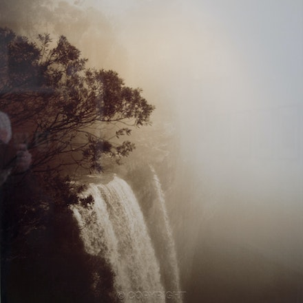 Fitzroy Falls - Each archival photograph is stamped and signed by Robert and a brief description of how it was taken. The options are as follows: -...
