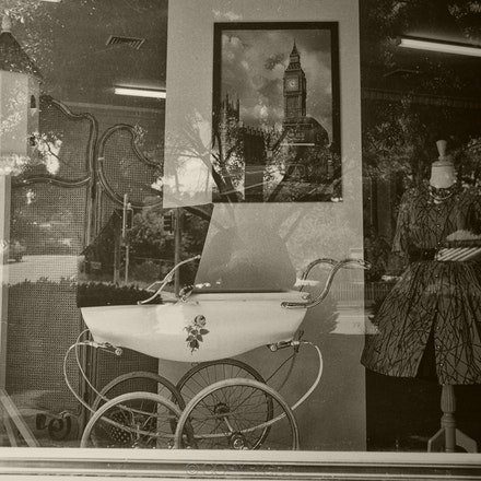 Bowral Shop Window - Love and Marriage - Each archival photograph is stamped and signed by Robert and a brief description of how it was taken. The options...