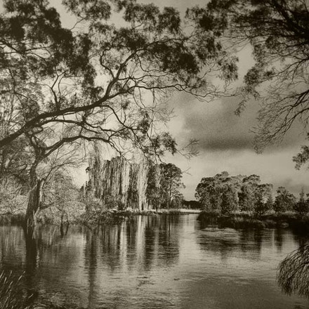 Oxley River, Burradoo - Each archival photograph is stamped and signed by Robert and a brief description of how it was taken. The options are as follows: -...