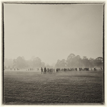 Soccer in the Mist - Each archival photograph is stamped and signed by Robert and a brief description of how it was taken. The options are as follows: -...