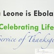 Celebrating an Ebola Free Sierra Leone By The Embassy Of Sierra Leone, DC