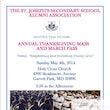 St. Joseph's Secondary School Alumni Association's Annual Thanksgiving Mass and March Pass 2014