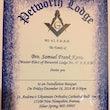 Bro Samuel Frank Kanu Petworth Lodge Installation Banquet