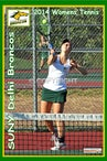 2014 SUNY Delhi Womens Tennis - Enhanced Photos