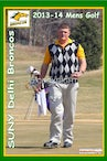 2013-14 SUNY Delhi Mens Golf Team - Enhanced