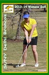 2013-14 SUNY Delhi Womens Golf Team - Enhanced