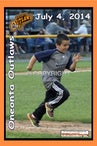 07-04-14 Oneonta Outlaws Baserunners