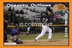 2016 Oneonta Outlaws - Enhanced Photos (Games - June 27 on)