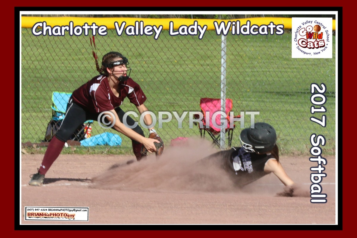 2017 Charlotte Valley Softball - Enhanced Photos