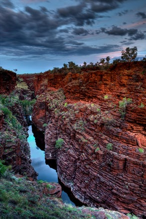 01 - Western Australia's Karijini national park is a favoured destination for both traveller and photographer alike. Almost as old as the earth itself,...